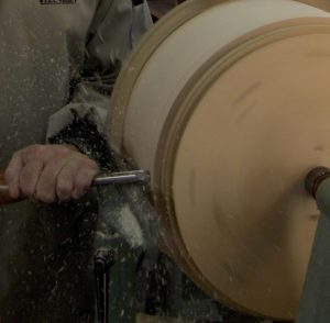 Turning A Stave Shell Drum