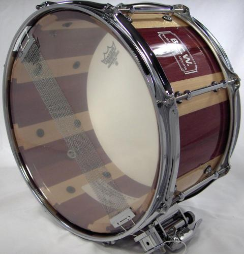 Purple Heart Maple Shell