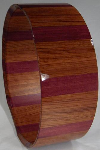 Purple Heart Bubinga Shell