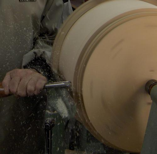 Turning A Stave Shell